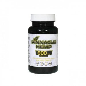 Pinnacle Hemp CBD Capsules 60 ct - 600 mg