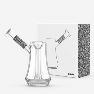 K. Haring Bubbler Black and White
