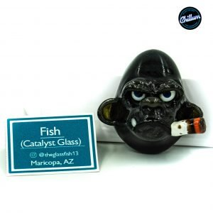 Fish's Black Smoking Chimp