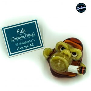 Fish's Amber Smoking Chimp