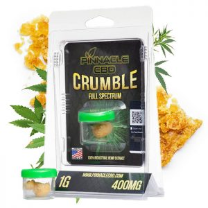 Pinnacle CBD Crumble Full Spectrum - 1G 400MG