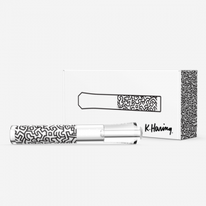 K. Haring Black and White Taster Chillum