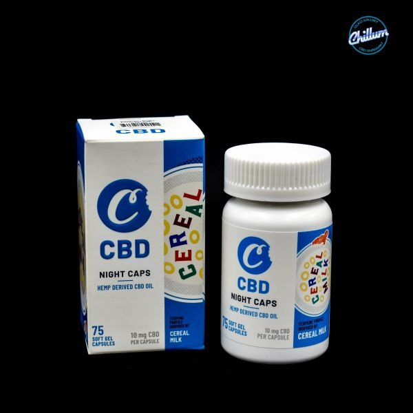Cookies Night Drops CBD Gel Capsules Cereal Milk - 750 MG